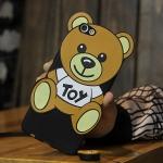 เคส OPPO R9s พลาสติกลายหมีน้อยแสนน่ารัก ราคาถูก (ไม่รวมสายคล้อง)