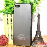 case iphone 5 เคสไอโฟน5 เคสด้านหลังเป็นโลหะมีลายเส้นโลหะสวยๆ ส่วนขอบเป็นพลาสติกเงาๆ สีหวานๆ สีแมทช์กับหลังเคส The perfect fusion brushed metal shell