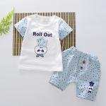 ชุดเซต Roll Out สีฟ้า [size 6m-1y-2y]