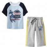 PJA070 เสื้อผ้าเด็ก ชุดลำลอง แนวสปอร์ต baby Gap Made in Malasia งานส่งออก USA เหลือ Size 90