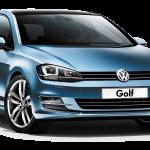 พรมปูพื้นรถเข้ารูป Volksawagen Golf