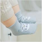 ถุงเท้า นกฮูกสีเทา แพ็ค 20 คู่ ไซส์ M (ประมาณ 1-3 ปี)