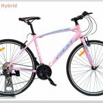 จักรยานไฮบริด FAST H1 700c เฟรมอลูมิเนียม 24 สปีด
