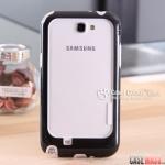 เคส Note 2 Case Samsung Galaxy Note 2 II N7100 wallnutt ขอบเคส bumper แบบประกบ 2 ชิ้น ซิลิโคน+พลาสติก สีตัดกันสวยๆ