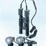CAT EYE ไฟหน้าแคทอายรุ่นชาร์ตแบต ABS-25, 15W/10W. (แบต NI-MH)