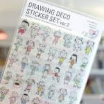 Drawing Deco Sticker Set Ver.2