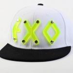 หมวกแฟชั่น EXO XOXO - XIUMIN (สีขาว)