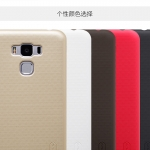 Case Asus Zenfone 3 Max (5.5 นิ้ว ZC553KL) พลาสติกผิวกันลื่นสีพื้น สวยงามมาก ราคาถูก
