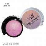 Y-Cid eye shadow 06 สีชมพูเมทาลิค