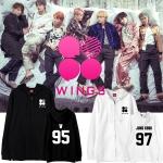 เสื้อฮู้ดซิปหน้า (Hoodie) BTS WINGS (เมมเบอร์)