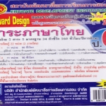 แผนการจัดการเรียนรู้หลักสูตรใหม่ 2551 ภาษาไทย ป.6 Backward Design