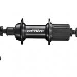 ดุม V-Brake หลัง DEORE FH-T610, 32H,36H, สีดำ (Malay)