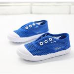 รองเท้าผ้าใบเด็ก สีน้ำเงิน แพ็ค 5 คู่ ไซส์ 26-27-28-29-30
