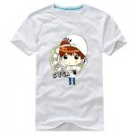 เสื้อยืดการ์ตูน BTS SUGA 2014 สีขาว
