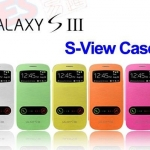 Flip Cover Case S View Galaxy S3