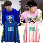เสื้อแขนยาว (Sweater) สกรีนลาย แบบ Yugyeom