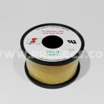 สายไฟTSL #24AWG 100FT(30m) สีเหลือง