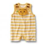 BS005 BUSHA เสื้อผ้าเด็ก ชุดหมี บอดี้สูท แฟนซี เนื้อนิ่ม ลายผึ้งน้อย เหลือ Size 90