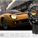 นาฬิกาข้อมือชายแฟชั่น Shank Sport watch SH081
