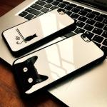 Case iPhone 6 Plus / 6s Plus (5.5 นิ้ว) พลาสติกลายแมวน้อยแสนน่ารัก ราคาถูก (ไม่รวมสายคล้อง)