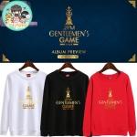 เสื้อแขนยาว (Sweater) 2PM - GENTLEMEN'S GAME