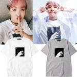 เสื้อยืด (T-Shirt) พิมพ์ลายรูปมือ แบบ J-Hope