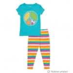 PJA049 เสื้อผ้าเด็ก ชุดลำลอง PEACE แนวสปอร์ต baby Gap Made in Malasia งานส่งออก USA เหลือ Size 110