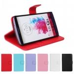 เคส LG G3 แบบหนังเทียมสีสด เรียบๆ แต่ดูดี เหมาะกับทุกสถานการณ์ ควรมีติดไว้ ราคาถูก
