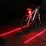 ไฟท้ายจักรยาน 9 เลด 2 เลเซอร์ Diamond laser tail light ,BS-02 (9LED+2LD)