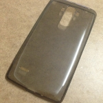 เคสนิ่มใส (หนา 0.3 mm) LG G4 Stylus สีเทา