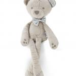 ตุ๊กตาหมีขายาว โบว์สีเทา แพ็ค 5 ตัว ขนาด 42 cm
