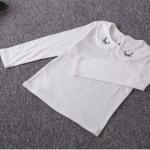 เสื้อ สีขาว รูปขนตา P5060 แพ็ค 5ชุด ไซส์ 7-9-11-13-15