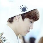 หมวกไหมพรม ลายลูกตา แบบ Kai+Sehun