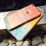 เคส iPhone 6s / iPhone 6 (4.7 นิ้ว) พลาสติกสีสันสดใสสกรีนลายน่ารัก ราคาถูก