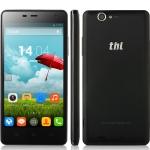 สมาร์ตโฟน ThL Ultrathin 4400 Smartphone จอ 5 นิ้ว HD Android 4.2 MTK6582 OTG 4400mAh สีดำ