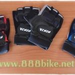 ถุงมือปั่นจักรยานแบบครึีงท่อน Ninja