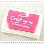 Crystal Craft Ink Pad (สีชมพู)