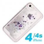 case iphone 4 เคสไอโฟน4s พลาสติกประดับฟรุ้งฟริ้งๆ ข้างในเป็นน้ำ และกากเพชร ลอยไปมา ระยิ๊บระยับ สวยๆ