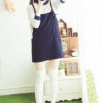 แฟชั่นถุงเท้ายาวเหนือเข่า สไตล์ญี่ปุ่น