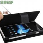 เคสหนัง Sony Xperia Acro S : Doormoon PU Case