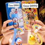 Case OPPO R7S พลาสติก TPU ลายการ์ตูนพร้อมที่ห้อยเข้าชุดน่ารักๆ ราคาถูก