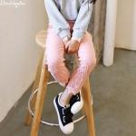 กางเกง สีชมพู แพ็ค 5ชุด ไซส์ 7-9-11-13-15