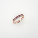 แหวนเงินอเมทิสต์ (Amethyst Silver Ring)