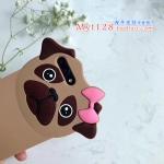 เคส iPhone 7 Plus (5.5 นิ้ว) ซิลิโคน soft case น้องหมาติดกิ๊บน่ารักมากๆ ราคาถูก