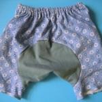 MPG014 กางเกงก้นบาน-ขาสั้นสำหรับสาวน้อย Size 1-3 ขวบ