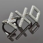 แหวนเพชร EXO (สีขาว)