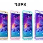 เคส Samsung Galaxy Note 5 ซิลิโคน TPU soft case แบบฝาพับโปร่งใสสีต่างๆ สวยงามมากๆ ราคาถูก
