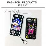 เคส iPhone 7 Plus ซิลิโคนเคสแบบนิ่ม Soft case ลายการ์ตูนน่ารักมากๆ พร้อมแหวนสำหรับตั้ง ราคาถูก (ไม่รวมสายคล้อง)