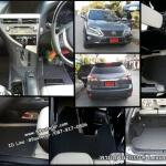 ขายพรมปูพื้นรถยนต์เข้ารูป Lexus RX270 ไวนิลสีดำขอบดำ