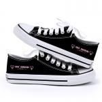 รองเท้าผ้าใบ SNSD สีดำ